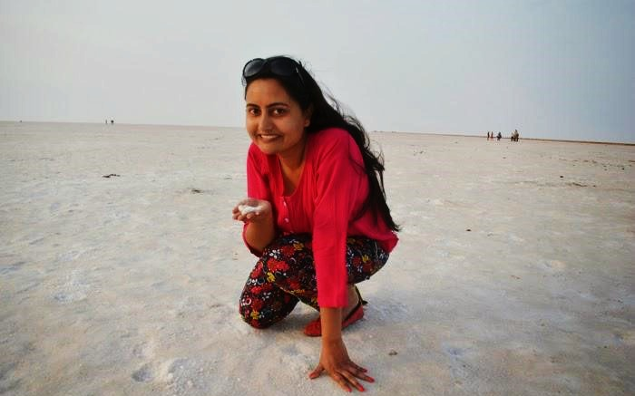 Renuka's exploring the world on her own