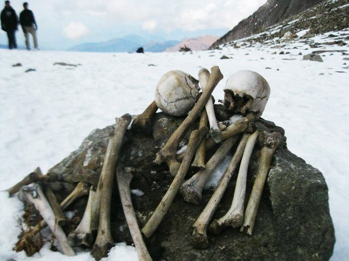 Walk Past the Dead at Roopkund Trek for most thrilling experience