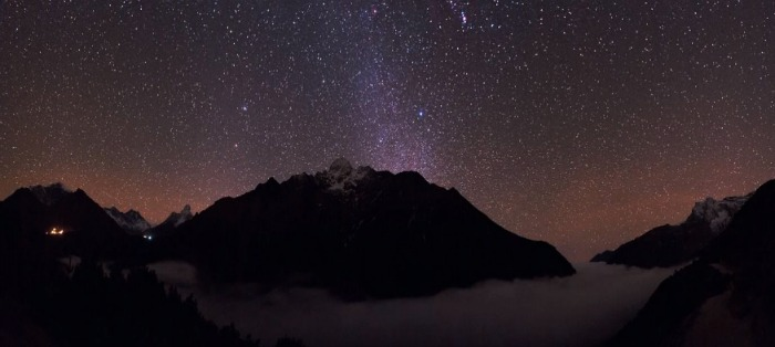 Starry sky - spectacular sites for a perfect star gazing night like