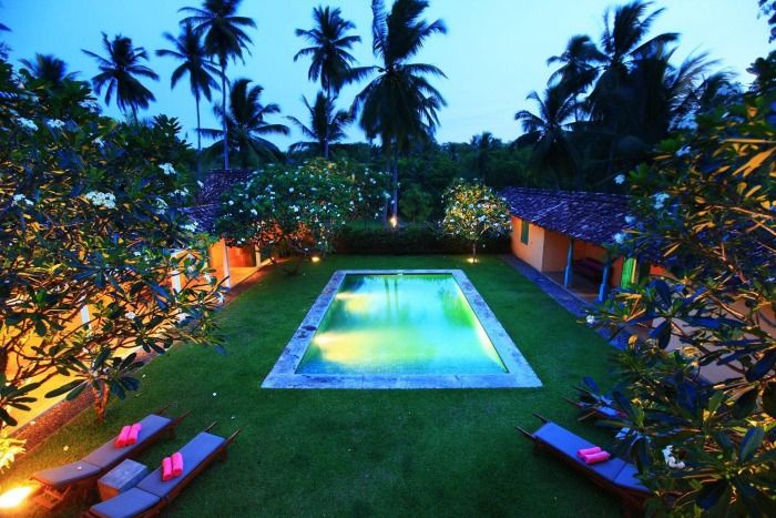 Enjoy your privacy for the romantic getaway at The Last House Tangalle
