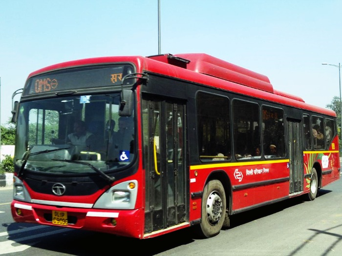 DTC low floor Air conditioned buses
