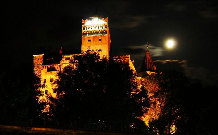 Get spooked at the Dracula's Castle in Romania