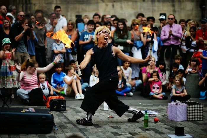 Feel alive at the Edinburgh Fringe Festival