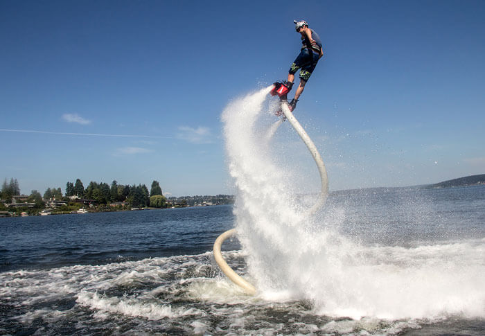 Flyboarding - A new addition to adventure sports in India