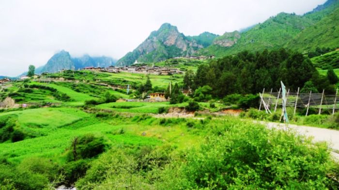 View of the Gangamoola valley