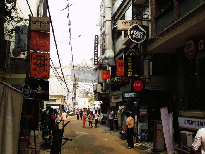 Hauz Khas Village - a popular hangout zone for Delhiites