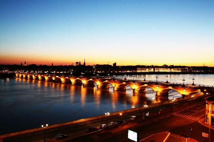 Surreal evening at Bordeaux