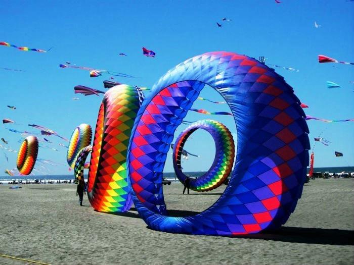 International Kite Festival held on Makar Sankranti in Ahmedabad