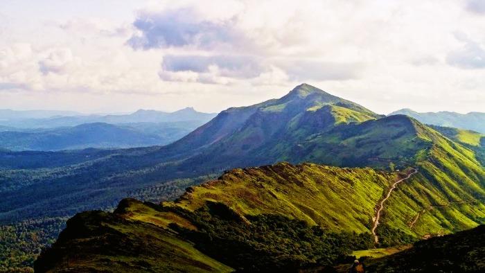 View from the highest peak in Kemmanagundi