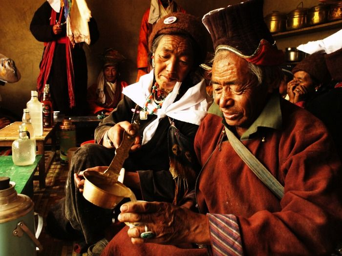 Local brew 'Chang' in Ladakh