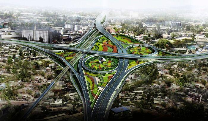 A bird's eye view of Ring Roads in Delhi