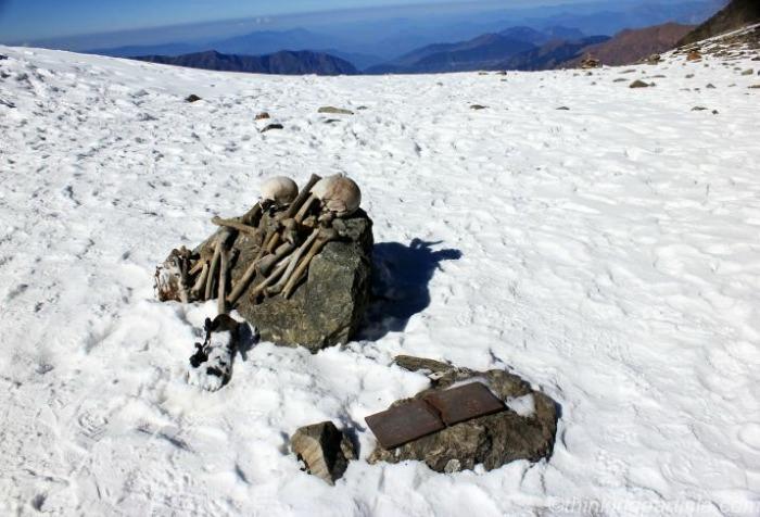 Tourists Trekking in Uttarakhand