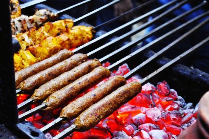 Seekh Kebab – a delectable street food in Delhi