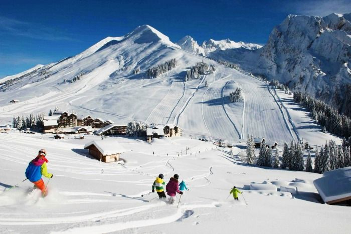 Get high on adrenaline in Switzerland's ski resorts!