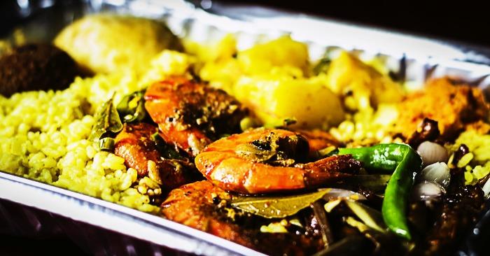 Sri Lankan seafood