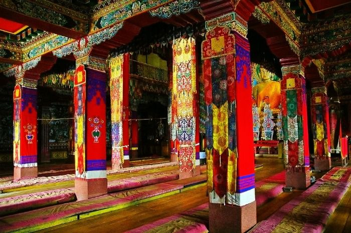 Entry of the Tawang Monastery in Arunachal Pradesh