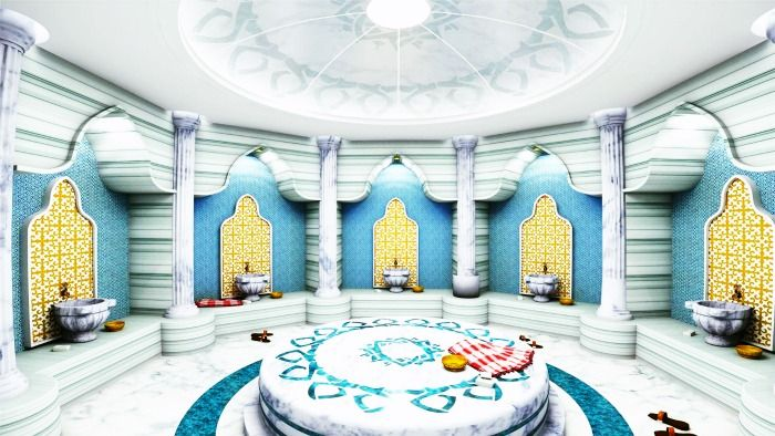 Traditional Turkish Bath in Istanbul