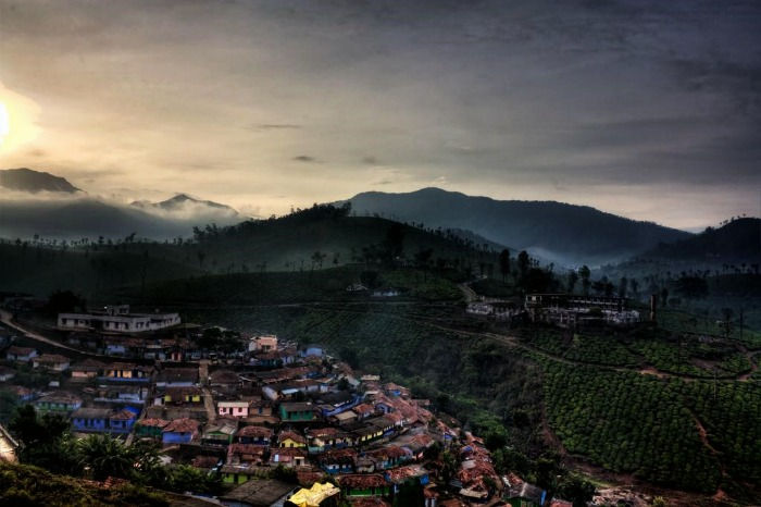 The beautiful and quaint village of Valparai, Tamil Nadu