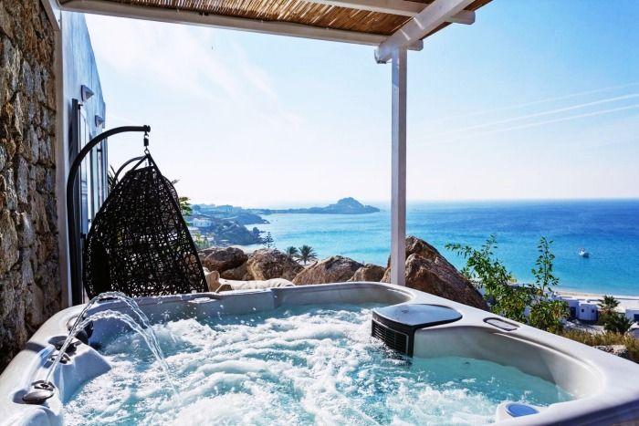 romantic honeymoon resort in greece, athens