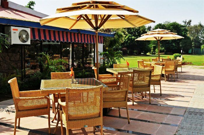 Seating arrangement- Best Western Resort Country Club