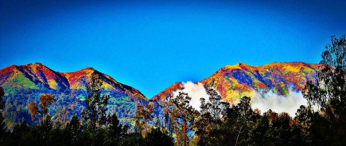 Ijen volcano complex in Banyuwangi