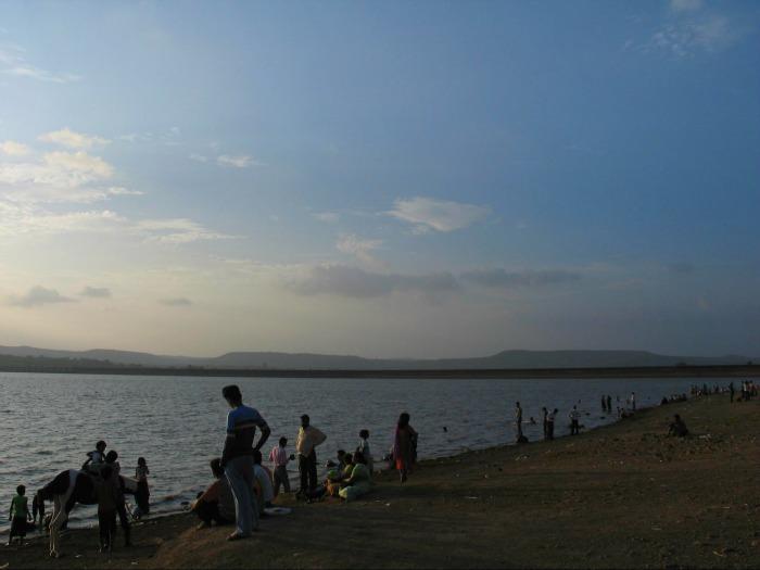 Khadakwasla dam in Pune