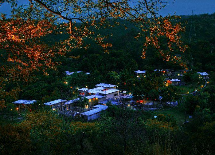 The panoramic view of Kikar Lodge Natural Retreat