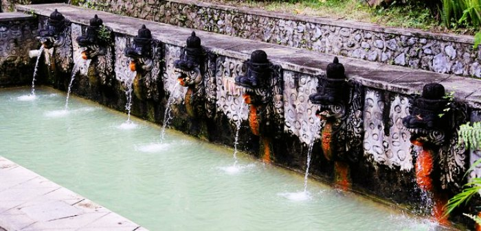 Spark up your love at Banjar hot springs and cool down at Git Git waterfalls close to Lovina