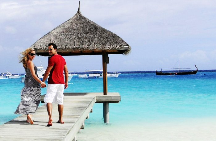 One of the best honeymoon destination in Asia in summer, Maldives