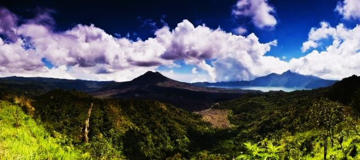 One of the best things to do in Bali on your honeymoon is to hike on Mount Batur