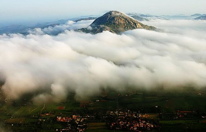 Nandi Hills is amongst the popular places to see in a day around Bangalore
