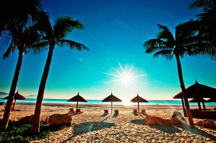 Honeymoon in Nha Trang romantic beach resort