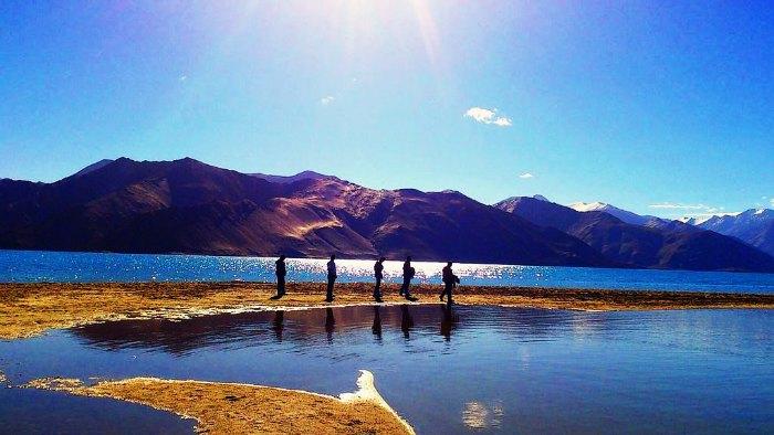 Pangong Tso Lake DP