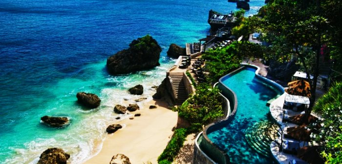 Peninsular Uluwatu is one of the best places to visit in Bali for your honeymoon
