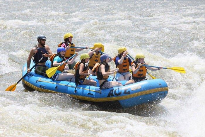 Rafting on river Beas in Kullu