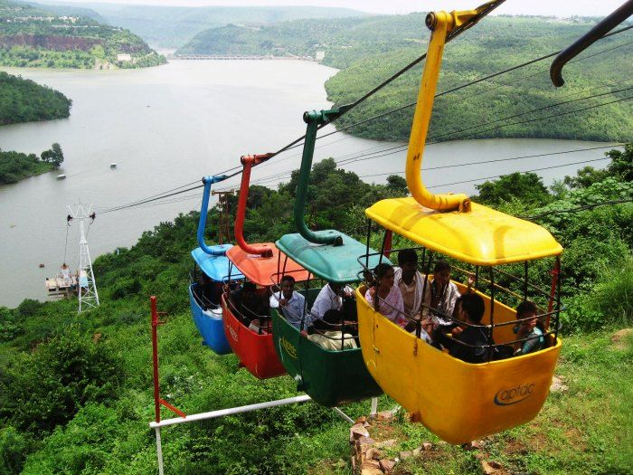 8 mesmerizing hill stations near hyderabad waiting to be explored enjoy ropeway at srisailam altavistaventures Gallery