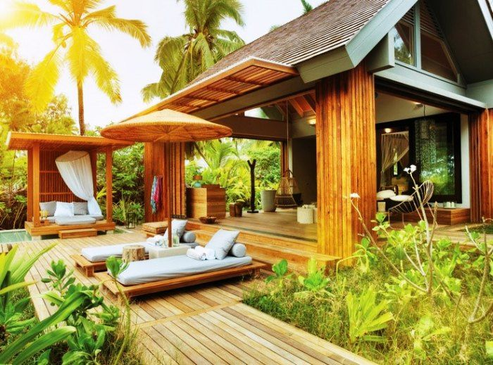 Book a private villa for your honeymoon for the ultimate luxury