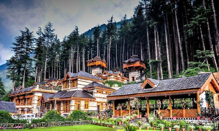 Treehouses in The Himalayan Village
