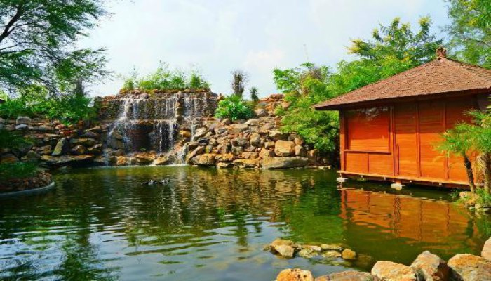The tree house resort in Jaipur is the largest resort in the world of its kind