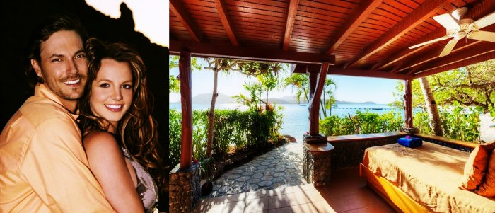 Britney Spears and Kevin Federline went for their honeymoon to Turtle Island resort, Fiji