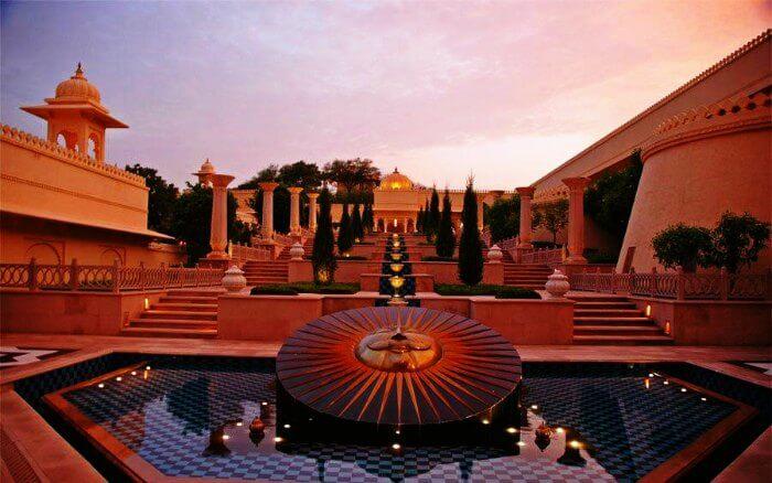 Udai Vilas Palace in Bharatpur
