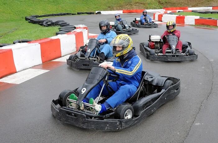 go karting in gurgaon