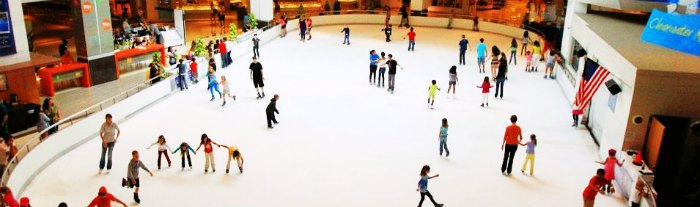 Ice Skate in Ambience mall in Gurgaon