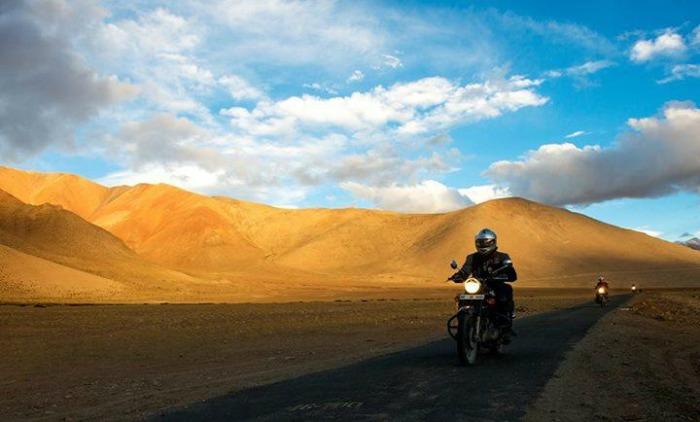 motorcycle ride in Himachal pradesh