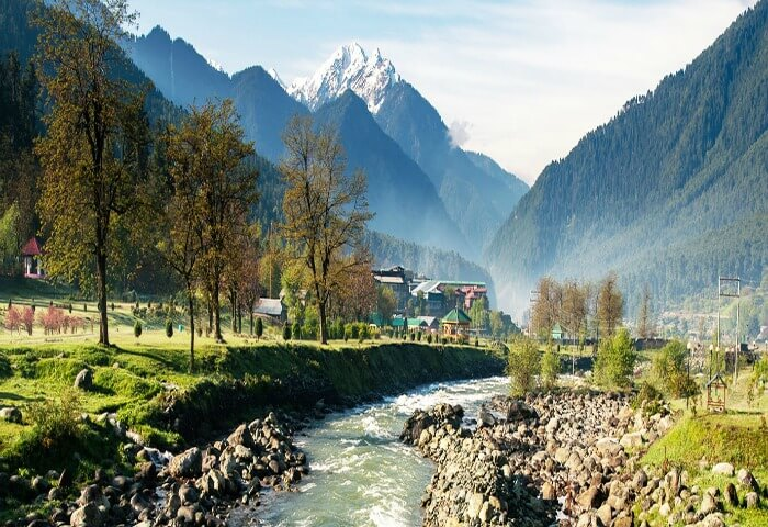 Pahalgam is one of the best places to visit in Kashmir in summer