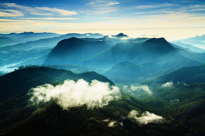 Adams Peak in Sri Lanka
