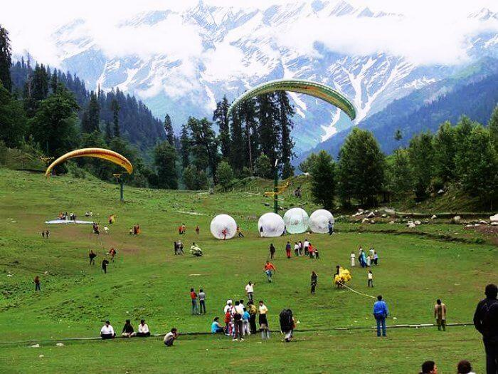 Adventure Activities in Solang Valley