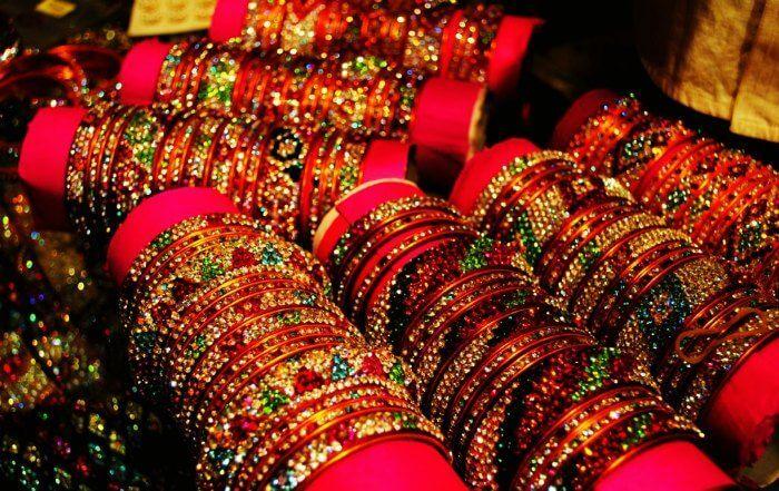Bangles in Laad Bazar