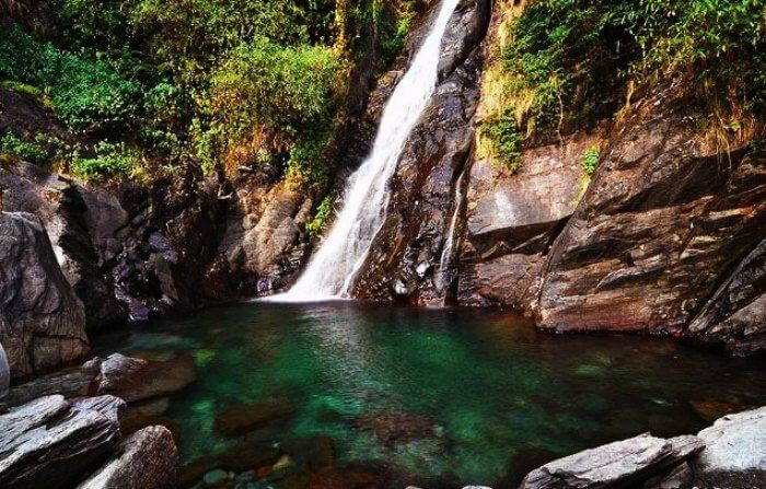 Bhagsu Falls are the most serene and picturesque waterfalls near Delhi