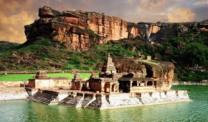Explore the ruins and caves of Badami